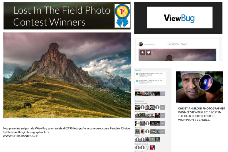 """Winner of contest """"Lost in the Field"""" – Viewbug"""