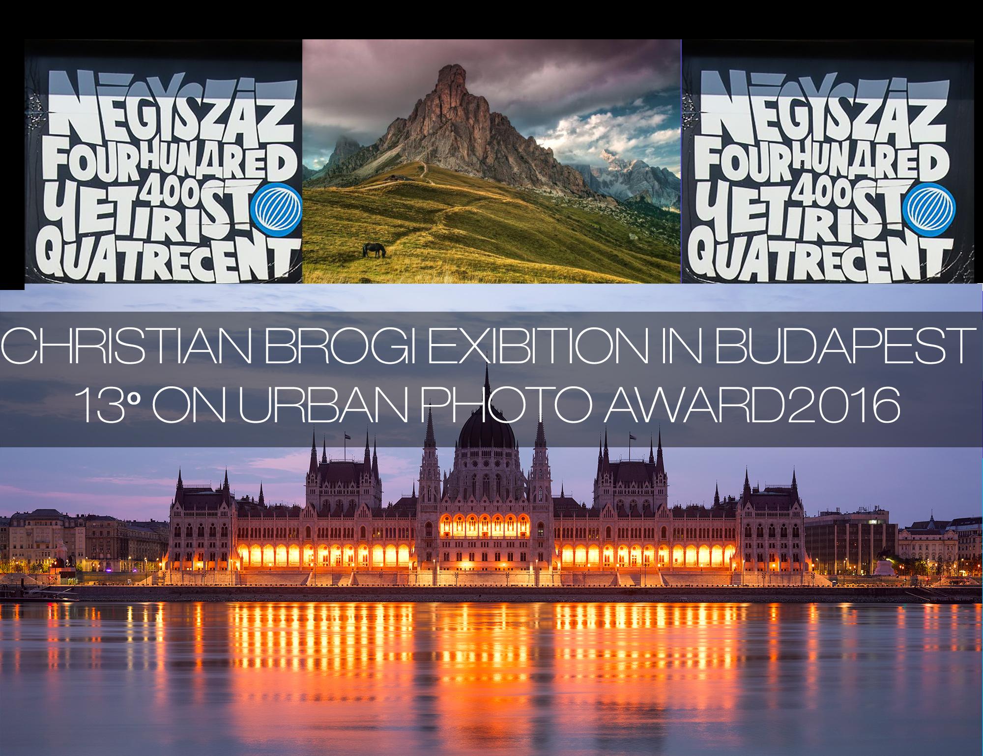 Christian Brogi selezionato 13° per L'Urban Photo Award 2016 con esposizione a Budapest