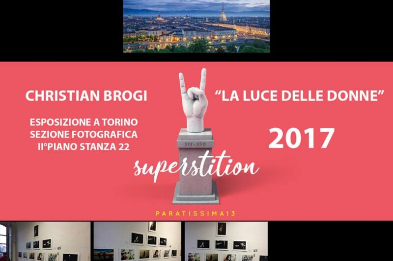 Christian Brogi a Paratissima 2017 – TORINO