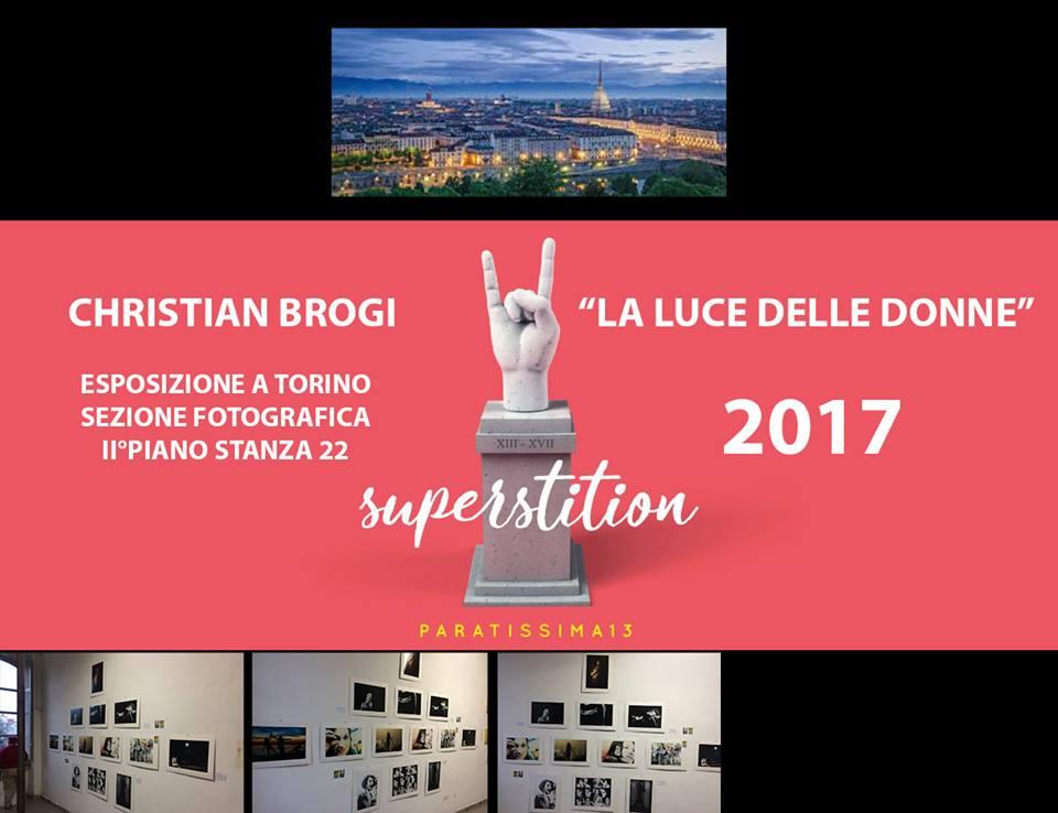 Esposizione con stanza dedicata a Christian Brogi - Paratissima XIII edizione - Torino