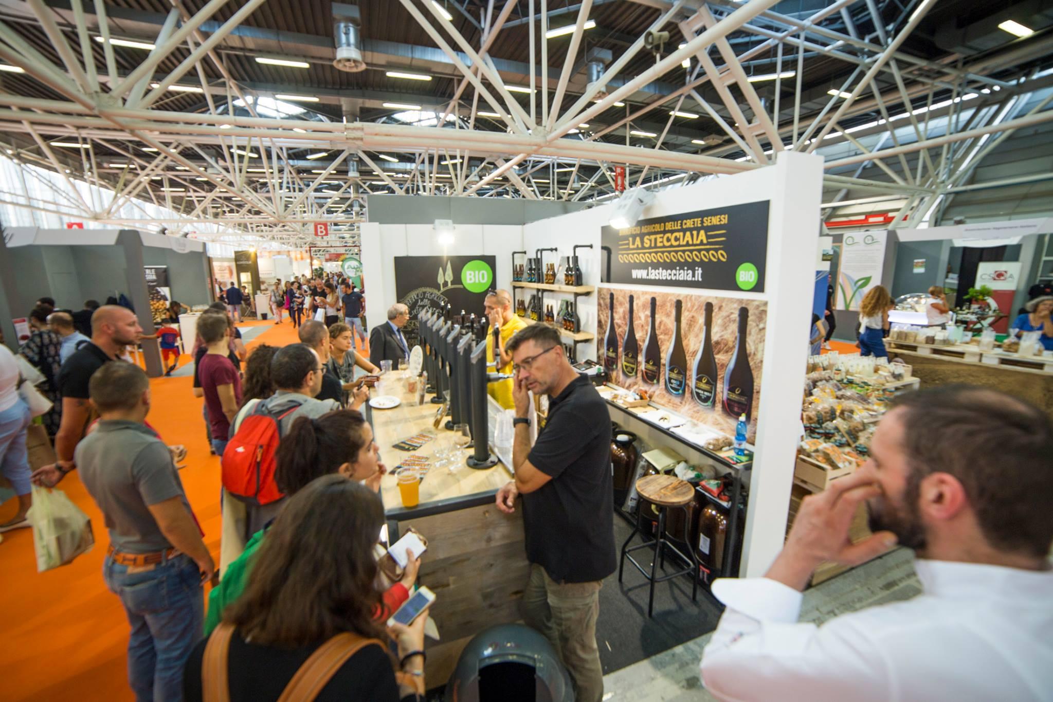 Bologna 2017 - SANA - gigantografie realizzate da CHRISTIAN BROGI per birrificio la Stecciaia