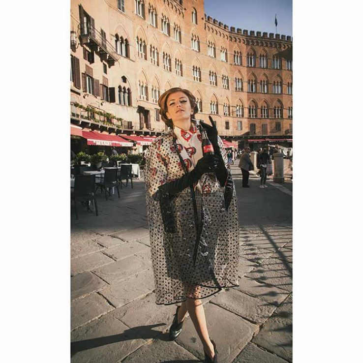 "Federica Bordoni photos by Chistian Brogi for the magazine ""Buffalo Spree"" October 2018"