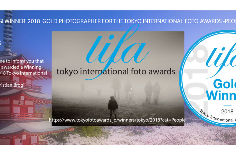 TOKYOFOTOAWARDS – WINNER GOLD Christian Brogi