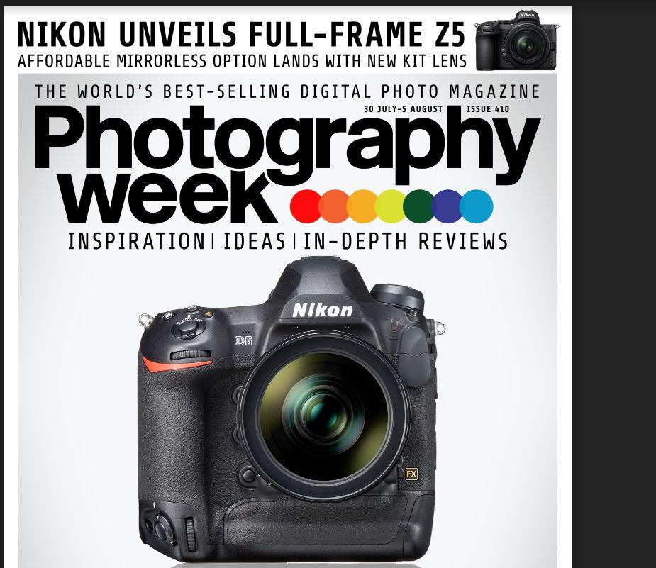 Christian Brogi on magazine PHOTOGRAPHY WEEK n.410